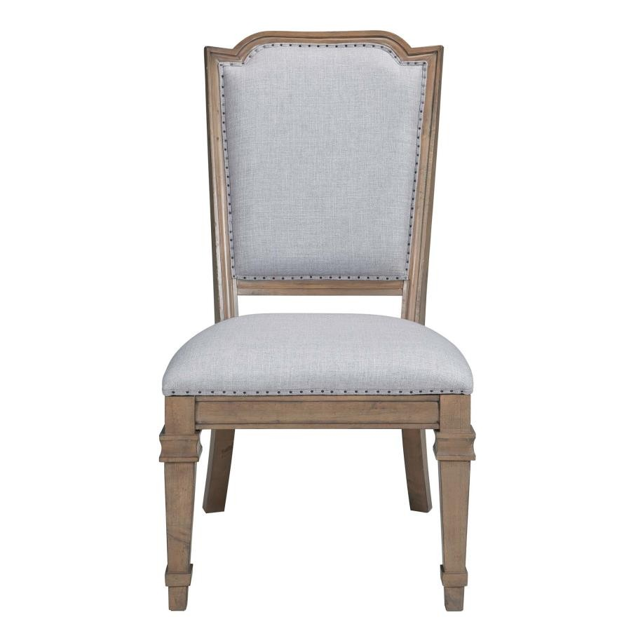 Florence Grey Upholstered Dining Chair (Pack Of 2
