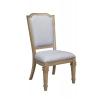Florence Grey Upholstered Dining Chair (Pack of 2)