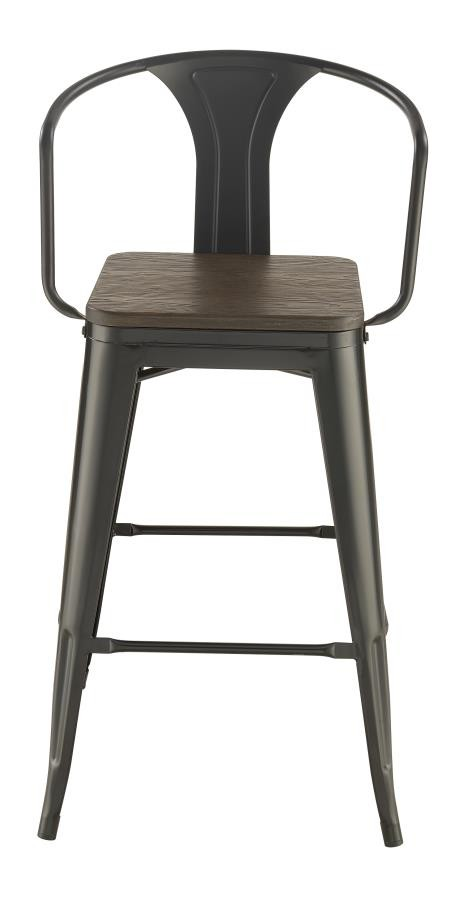 Stupendous Industrial Bar Stool Pack Of 2 Ncnpc Chair Design For Home Ncnpcorg