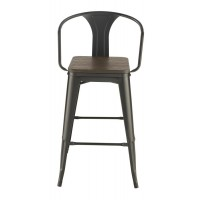 Industrial Bar Stool (Pack of 2)
