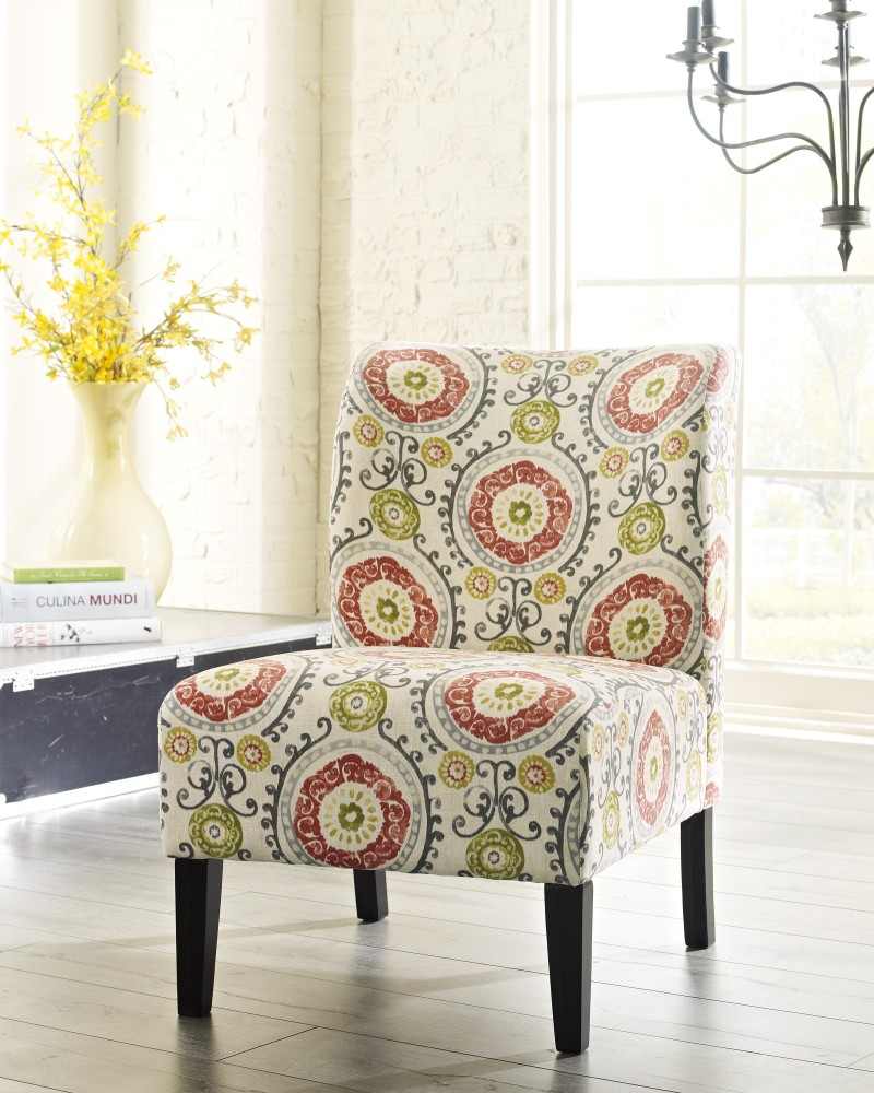 Floral Accent Chairs.Honnally Floral Accent Chair