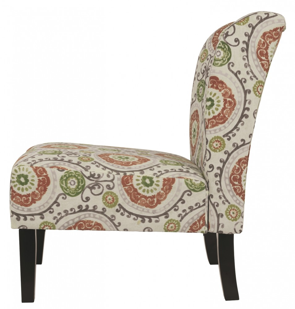 Honnally Floral Accent Chair 5330260 Chairs Furniture World Superstore