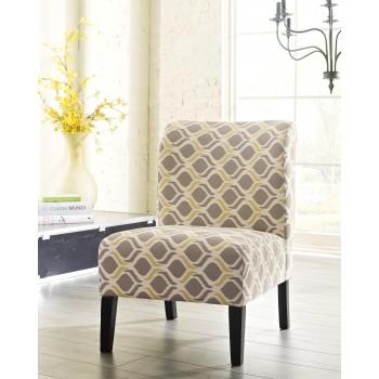 Honnally - Gunmetal - Accent Chair