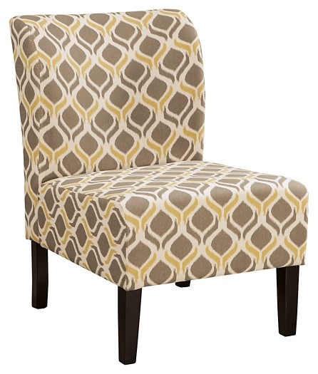 Honnally - Gunmetal - Accent Chair
