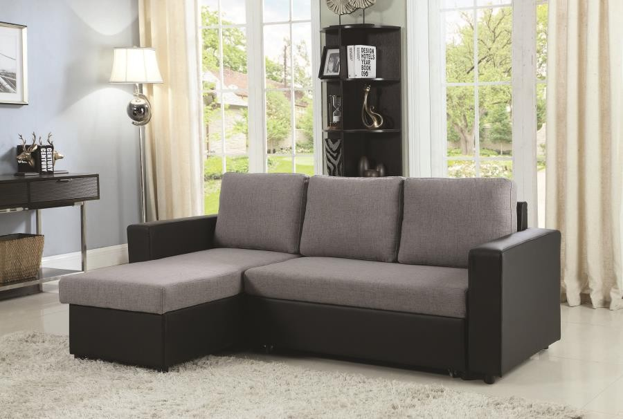Baylor Casual Grey Sofa 503929 Sofas Griffin S