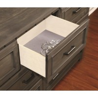 NAPOLEON COLLECTION - Napoleon Rustic Gun Smoke Seven-Drawer Dresser