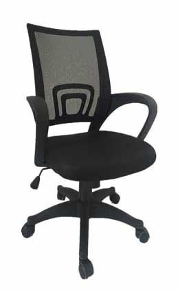 Home Office Chairs Contemporary Black Mesh Back Office Chair 881048 Home Office Desk Chair Inhome Furniture Gallery