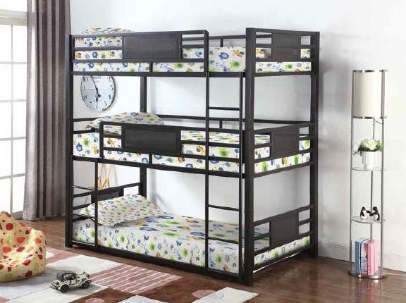 Twin Triple Bunk 460394t Bunk Beds Factory Bedding Furniture