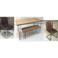 CHAMBLER COLLECTION - DINING TABLE