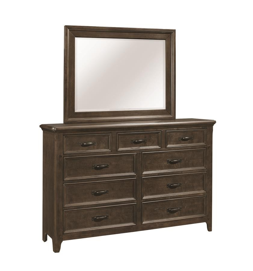 Ives Bedroom Collection Dresser 205253 Dressers The Unique Piece