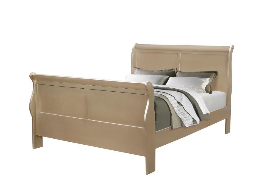 HERSHEL LOUIS PHILIPPE BEDROOM COLLECTION   QUEEN BED