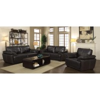 Zenon Casual Brown Loveseat