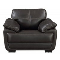 Zenon Casual Brown Chair