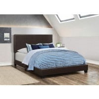 DORIAN UPHOLSTERED BED - E KING BED