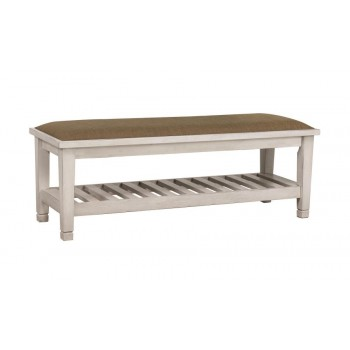 FRANCO COLLECTION - Franco Antique White Bench