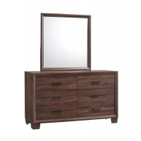 BRANDON BEDROOM COLLECTION - Brandon Transitional Mirror