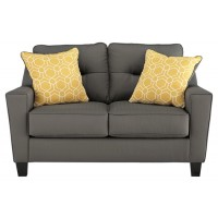 Forsan Nuvella - Grey - Loveseat