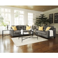 Forsan Nuvella - Grey - Sofa & Loveseat