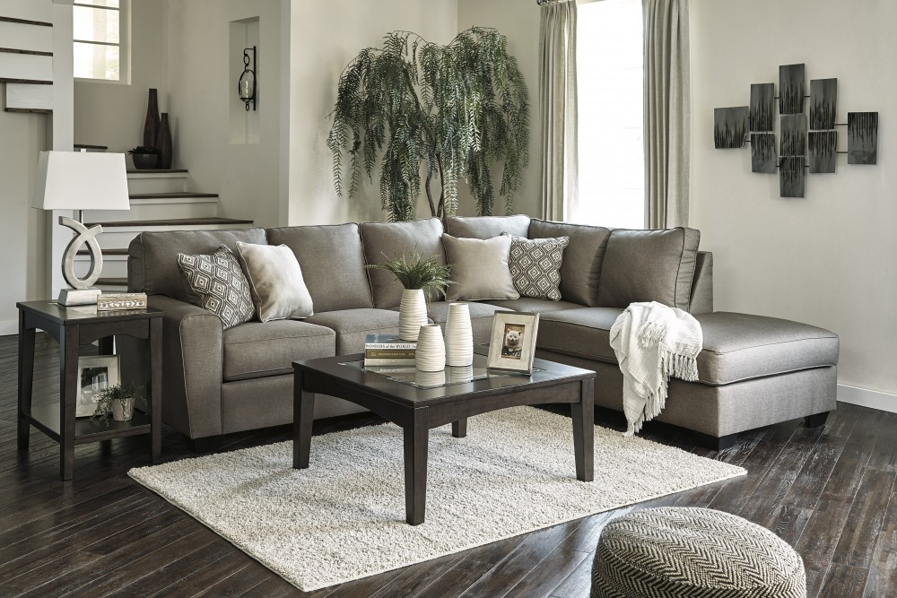 Charming Calicho   Cashmere 2 Pc LAF Sectional