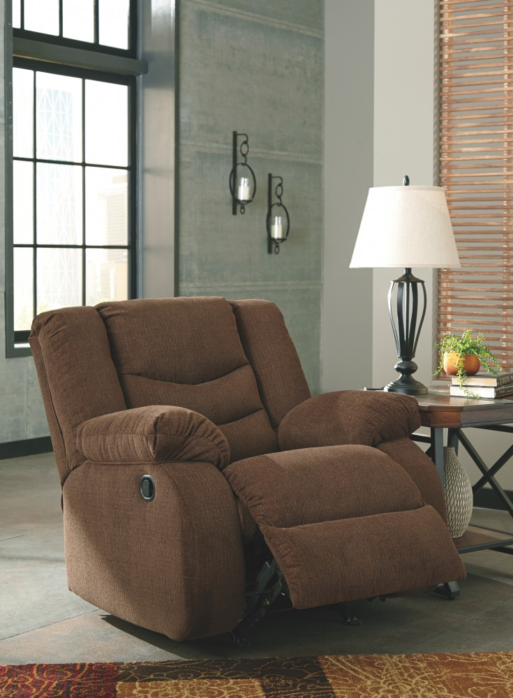 tulen chocolate rocker recliner 9860525 recliners 78151