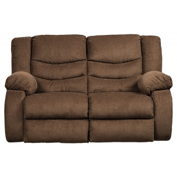 Tulen - Chocolate - Reclining Loveseat