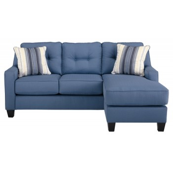 Aldie Nuvella - Blue - Sofa Chaise