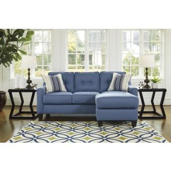 Charmant Aldie Nuvella   Blue   Sofa Chaise
