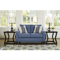 Aldie Nuvella - Blue - Loveseat