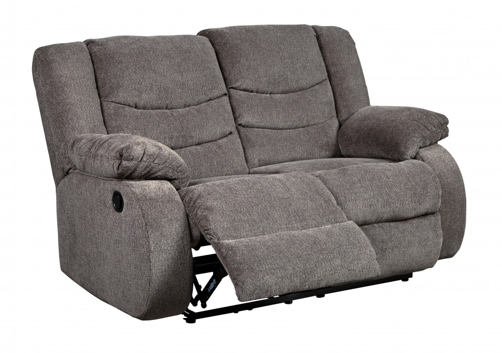a gray leather steal black furniture sofa malta reclining poundex loveseat