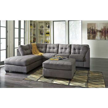 Maier Charcoal Chaise Sectional