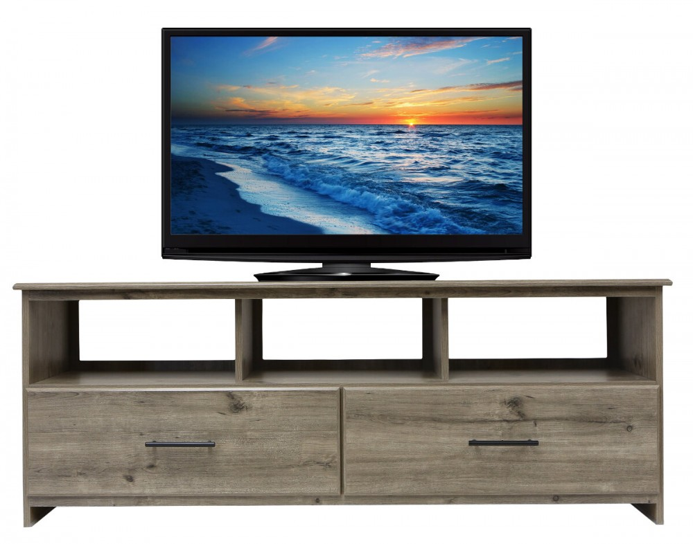 22604 Weathered Gray Ash TV Stand
