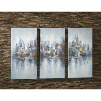 Saide - Multi - Wall Art Set (3/CN)
