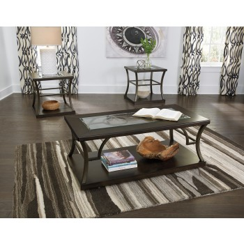 Lamink - Brown - Occasional Table Set (3/CN)