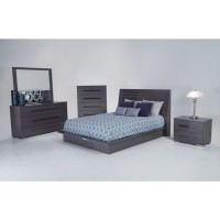 Dimora Platinum 5 Piece Bedroom Group