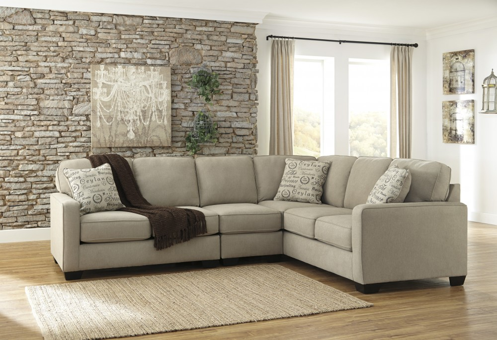 Alenya - Quartz 3 Pc. LAF Loveseat Sectional