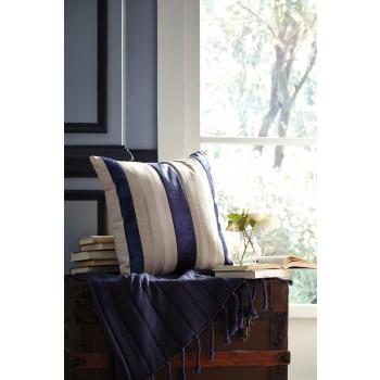 Ashok - Natural/Navy - Pillow