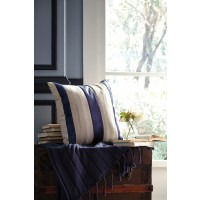 Ashok - Natural/Navy - Pillow