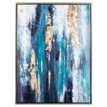 Dinorah - Teal Blue - Wall Art