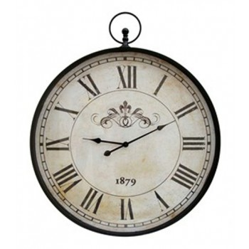 Augustina - Antique Black - Wall Clock
