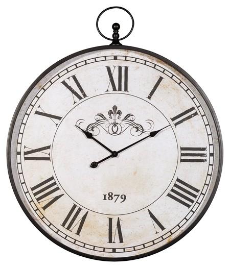 Augustina - Antique Black - Wall Clock
