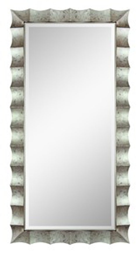 Laasya - Antique Silver Finish - Accent Mirror