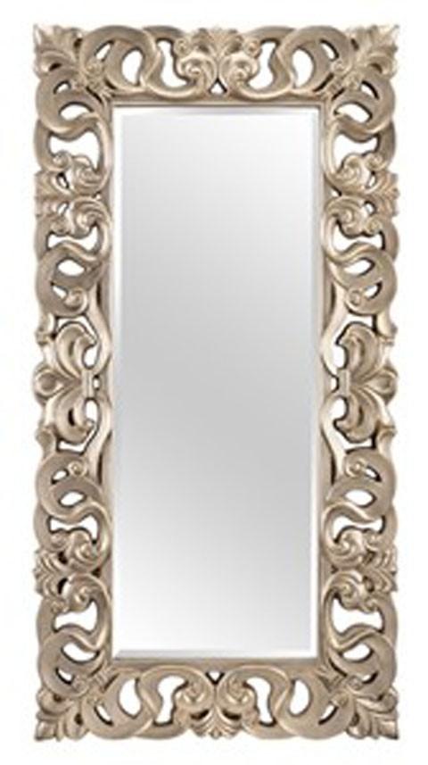 Lucia - Antique Silver Finish - Accent Mirror