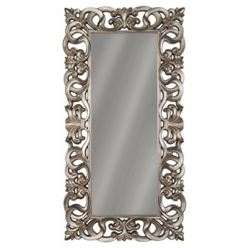 Lucia - Antique Silver Finish - Accent Mirror