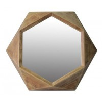 Corin - Natural - Accent Mirror