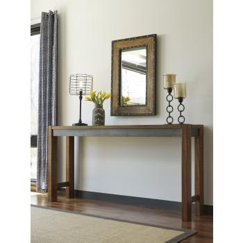 Torjin - Two-tone Brown - Long Counter Table