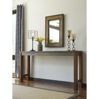 Torjin - Two-tone Brown - Long Counter Table