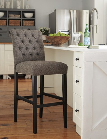 tripton dining uph side chair set of 2 d530 01 tripton medium brown uph barstool 2 cn bar 362