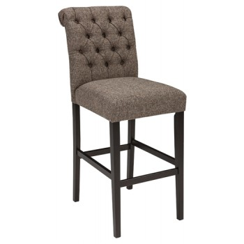 Tripton - Medium Brown - Tall UPH Barstool (2/CN)