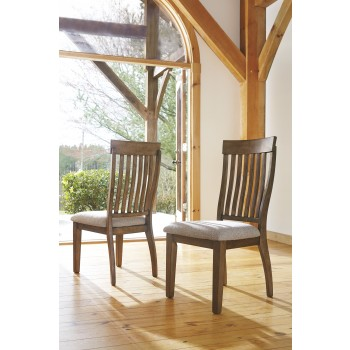 Colestad - Light Brown - Dining UPH Side Chair (2/CN)
