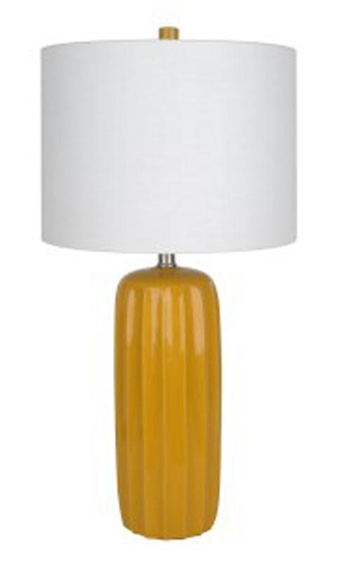 Adorlee - Yellow - Ceramic Table Lamp (2/CN)